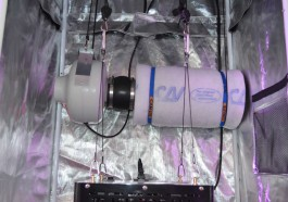 best carbon filter setup in grow tent