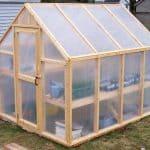 Easy to Make Pole Barn Greenhouse